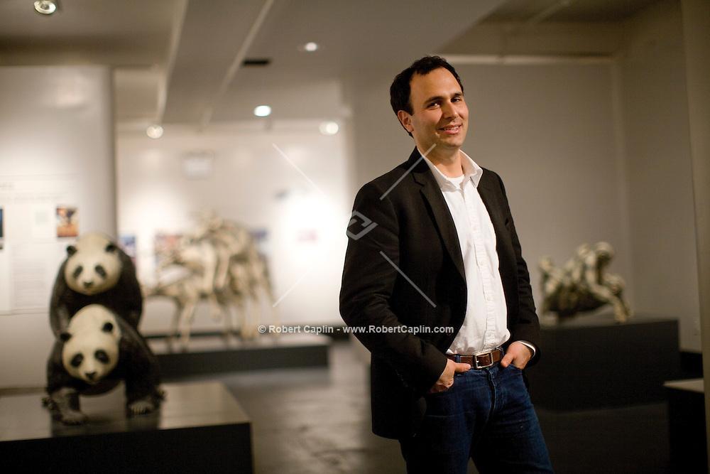 Daniel Gluck director of the Museum of Sex in New York.               ..Photo by Robert Caplin