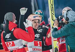 06.01.2020, Paul Außerleitner Schanze, Bischofshofen, AUT, FIS Weltcup Skisprung, Vierschanzentournee, Bischofshofen, Finale, im Bild Michael Hayboeck (AUT), Stefan Kraft (AUT) // Michael Hayboeck of Austria Stefan Kraft of Austria during the final for the Four Hills Tournament of FIS Ski Jumping World Cup at the Paul Außerleitner Schanze in Bischofshofen, Austria on 2020/01/06. EXPA Pictures © 2020, PhotoCredit: EXPA/ JFK