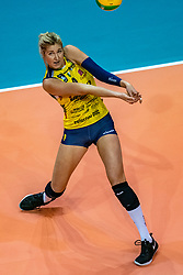 18-05-2019 GER: CEV CL Super Finals Igor Gorgonzola Novara - Imoco Volley Conegliano, Berlin<br /> Igor Gorgonzola Novara take women's title! Novara win 3-1 / Karsta Lowe #9 of Imoco Volley Conegliano