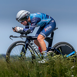 EMMEN (NED) June 16: <br />CYCLING <br />Dutch Nationals Time Trail Women Elite Shirin van Anrooij
