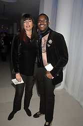 MR & MRS ORLANDO HAMILTON attending the Tag Heuer party where an exhibition of photographs by Mary McCartney celebrating 15 exception women from 15 countries was unveiled at the Royal College of Arts, Kensington Gore, London on 8th February 2007.<br /><br />NON EXCLUSIVE - WORLD RIGHTS