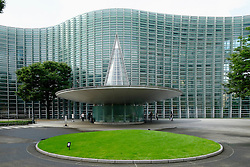 Exterior of National Art Center Tokyo