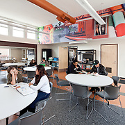 Career Tech Building for Roseville High School Education Infrastructure Architectural Example of Chip Allen Photography.