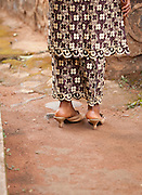One of the Queens of the Fon (local tribal leader) of Bafut, Cameroon