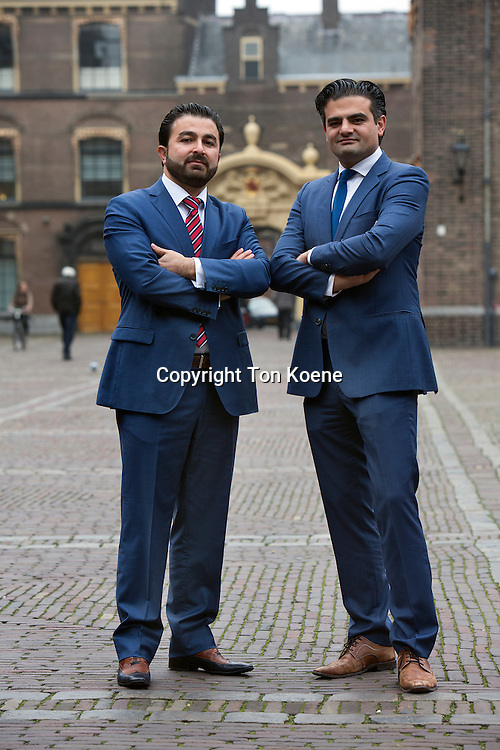 breakaway Dutch-Turkisch Labour MPs Tunahan Kuzu and Selcuk Öztürk