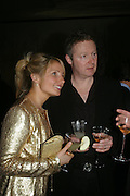 Rory Bremner and his wife Tessa. Almeida 25th Anniversay Gala. Gagosian Gallery, Brittania St. Kings Cross. London. 27 January 2005. ONE TIME USE ONLY - DO NOT ARCHIVE  © Copyright Photograph by Dafydd Jones 66 Stockwell Park Rd. London SW9 0DA Tel 020 7733 0108 www.dafjones.com