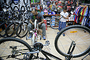 Israel, Tel Aviv, Bicycle shop