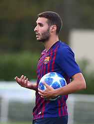 October 3, 2018 - London, England, United Kingdom - Enfield, UK. 03 October, 2018.Ortega Abel Ruiz  of FC Barcelona.during UEFA Youth League match between Tottenham Hotspur and FC Barcelona at Hotspur Way, Enfield. (Credit Image: © Action Foto Sport/NurPhoto/ZUMA Press)