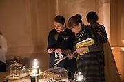 STEFANIE HERMANN; MARTINE HASPERLAGH, GEMS AND LADDERS London Launch & Artist's Talk, 11 Mansfield Street, London. 24 November 2016
