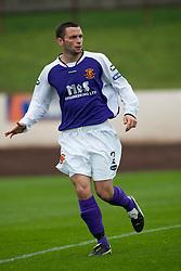 Annan Athletic's John MacBeth..Berwick Rangers 0 v 1 Annan Athletic, 1/10/2011..Pic © Michael Schofield.