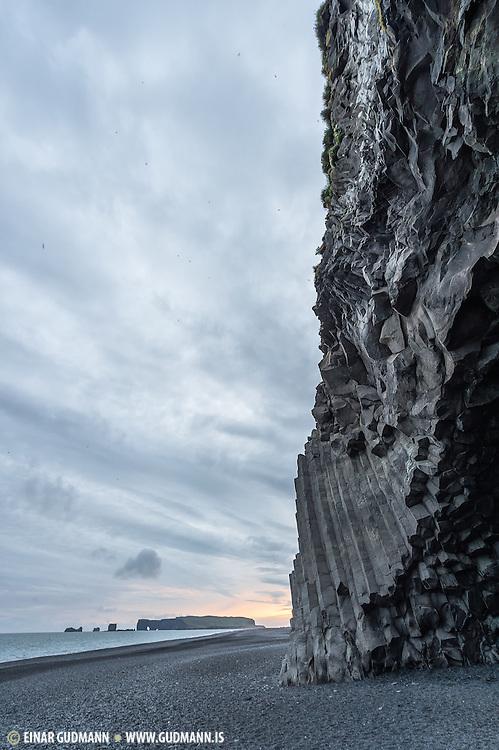 Dyrhólaey in south-Iceland