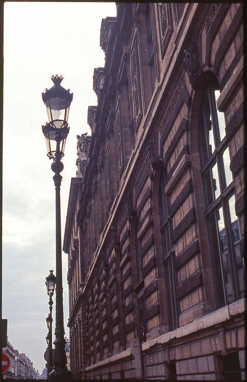 Street Lamps, Paris, France 2010