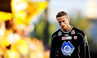 Fotball<br /> Tippeligaen<br /> Åråsen Stadion 22.08.10<br /> Anders Lindegaard depper etter tap<br /> Foto: Eirik Førde