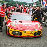 #77 Ferrari F430 GTC, BMS Scuderia Italia, drivers:  Matteo Malucelli (I)/Paolo Ruberti (I)/Joël Camathias (CH)/Davide Rigon (I), Total 24H of Spa, 3.8.2008