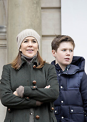 November 5, 2017 - DENMARK - 05-11-2017 Denmark Princess Mary and Princess Isabella and Princess Josephine and Prince Vincent and Prince Christian during the annual 'Hubertusjagten' (Fox Hunt) in Dyrehaven in Klampenborg.. .© PPE/NieboerCredit: PPE/face to face.- No rights for the Netherlands  (Credit Image: © face to face via ZUMA Press)