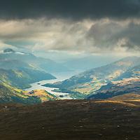 Loch Lomond from Beinn Dubhchraig