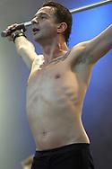 Dave Gahan at the Glastonbury Festival, Somerset, Britain - 29 June 2003.