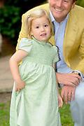 Photocall of the dutch Royal Family.<br /> <br /> On the photo: princess Alexia <br /> <br /> Fotosessie op Landgoed de Horsten in Wassenaar <br /> Op de foto:<br /> <br /> Prinses Alexia