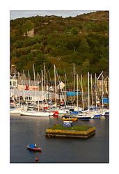 Bell Lawrie Series Tarbert Loch Fyne - Yachting..Tarbert Harbour with the fleet...