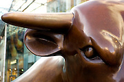 Bull Statue in the Bullring in Birmingham.Picture by Shaun Fellows/Shine Pix