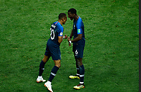Kylian MBAPPE, Paul POGBA <br /> Celebration Victory France <br /> Moscow 15-07-2018 Football FIFA World Cup Russia  2018 Final / Finale <br /> France - Croatia / Francia - Croazia <br /> Foto Matteo Ciambelli/Insidefoto