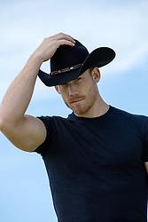 portrait of a hot cowboy