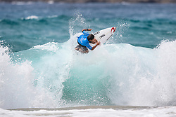 Yuji Nishi of Japan placed second in Heat 1 of Round Four at the 2018 Jeep World Junior Championship at Kiama, NSW, Australia.