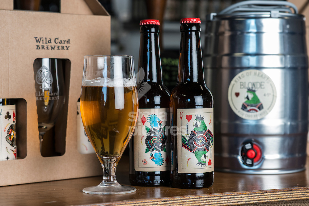 Beers of Wild Card Brewery.<br /> Picture by Daniel Hambury/Stella Pictures Ltd +44 7813 022858<br /> 16/02/2016
