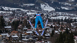 30.01.2016, Normal Hill Indiviual, Oberstdorf, GER, FIS Weltcup Ski Sprung Ladis, Bewerb, im Bild Manuela Malsiner (ITA) // Manuela Malsiner of Italy during her Competition Jump of FIS Ski Jumping World Cup Ladis at the Normal Hill Indiviual, Oberstdorf, Germany on 2016/01/30. EXPA Pictures © 2016, PhotoCredit: EXPA/ Peter Rinderer