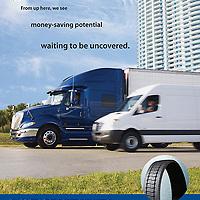 Goodyear truck tire ad
