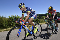 June 8, 2017 - Macon, France - MACON, FRANCE - JUNE 8 : MINNAARD Marco of Wanty - Groupe Gobert, BOUWMAN Koen of Team LottoNL-Jumbo during stage 5 of the 69th edition of the Criterium du Dauphine Libere cycling race, a stage of 175 kms between La Tour-de-Salvagny and Macon on June 08, 2017 in Macon, France, 8/06/2017 (Credit Image: © Panoramic via ZUMA Press)
