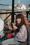 IRIS VAN DONGEN, Absolut Art Bureau cocktails and dinner to celebrate the announcement of the 2013 Absolut Art Award shortlist. Bauer Hotel, San Marco. Venice. Venice Bienalle. 28 May 2013