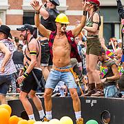 NLD/Amsterdam/20170805 - Gaypride 2017, cafe 't Achterom
