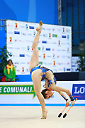 Valente Rafaela during qualifying at clubs in Pesaro World Cup 02 April 2016. Rafaela is a gymnast from Portugal. She is born in Almada, 1998.