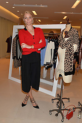 JODIE KIDD at the launch of the 'Jasmine for Jaeger' fashion collection by Jasmine Guinness for fashion label Jaeger held at Fenwick's, Bond Street, London on 9th September 2015.