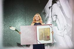 Janja Garnbret at 54th Annual Awards of Stanko Bloudek for sports achievements in Slovenia in year 2018 on February 13, 2019 in Brdo Congress Center, Brdo, Ljubljana, Slovenia,  Photo by Peter Podobnik / Sportida