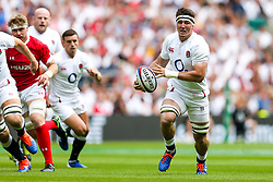 Tom Curry of England - Rogan/JMP - 11/08/2019 - RUGBY UNION - Twickenham Stadium - London, England - England v Wales - Quilter Series.