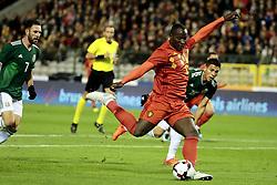 November 10, 2017 - Bruxelles, Belgique - Romelu Lukaku forward of Belgium (Credit Image: © Panoramic via ZUMA Press)