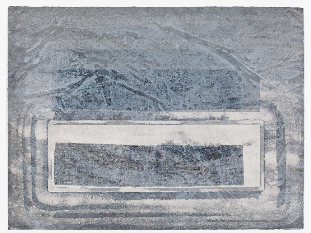 Indian ink and acrylic on paper, 56 x 76 cm