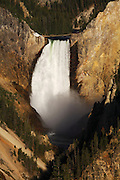 The Lower Falls of the Grand Canyon from Artist Point, Yellowstone Natoinal Park, Wyoming.