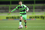 Forest Green Rovers Lloyd James(4) runs forward during the The FA Cup 1st round replay match between Forest Green Rovers and Oxford United at the New Lawn, Forest Green, United Kingdom on 20 November 2018.