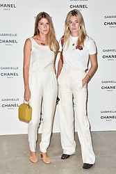 """Guest attending the party for the new Chanel perfume """"Gabrielle"""", at the Palais de Tokyo in Paris, France, on July 4, 2017. Photo by Alban Wyters/ABACAPRESS.COM"""