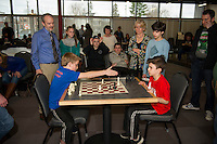 City Wide Chess Tournament at the Huot Technical Center.  Karen Bobotas for the Laconia Daily Sun