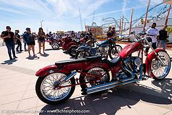 The annual Boardwalk Bike Show during Daytona Bike Week. FL. USA. Friday March 16, 2018. Photography ©2018 Michael Lichter.