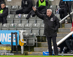 NEWCASTLE-UPON-TYNE, ENGLAND - Wednesday, December 30, 2020: Newcastle United's manager Steve Bruce during the FA Premier League match between Newcastle United FC and Liverpool FC at St. James' Park. The game ended in a goal-less draw. (Pic by David Rawcliffe/Propaganda)