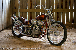 James Alcorn's Panhead at the BC Moto Show at the Tennessee Motorcycles and Music Revival at Loretta Lynn's Ranch. Hurricane Mills, TN, USA. Friday, May 21, 2021. Photography ©2021 Michael Lichter.