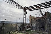 L'impianto industriale Acciaierie Scianatico, in stato di totale abbandono dagli anni ottanta. Bari, 29 dicembre 2013. Christian Mantuano / OneShot
