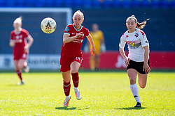 BIRKENHEAD, ENGLAND - Easter Sunday, April 4, 2021: Liverpool's Ashley Hodson (L) during the FA Women's Championship game between Liverpool FC Women and Lewes FC Women at Prenton Park. (Pic by David Rawcliffe/Propaganda)