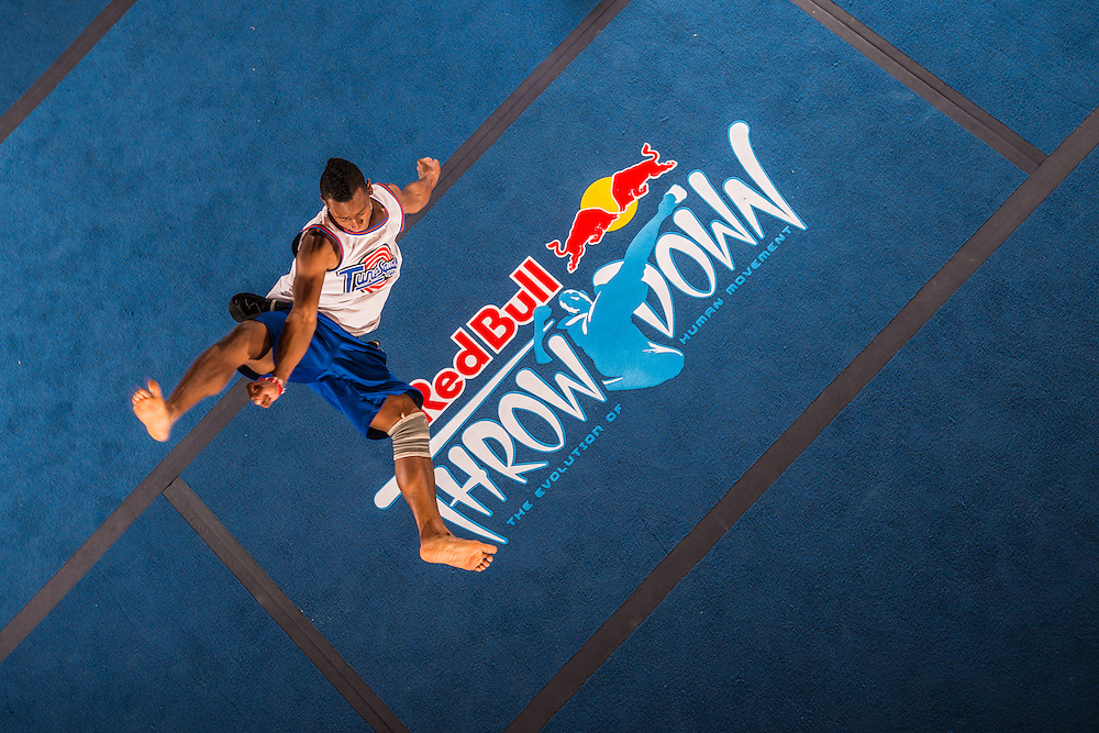 Riyanto Mijnals competes during the one on one event at Red Bull Throwdown in Atlanta, Georgia on August 25th, 2013
