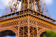 Detail of the Eiffel Tower, Paris, France